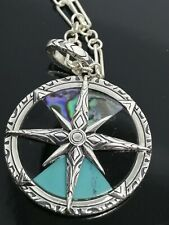 (Hackney) Thomas Sabo Jewellery Pendant Compass Small And Chain