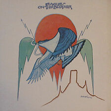 EAGLES - ON THE BORDER  asylum K 43005 LP 1974 ITA
