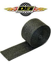 "DEI 010121 2"" x 15' Composite Woven Header Exhaust Manifold Heat Wrap Black"