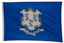 4x6 ft CONNECTICUT The Constitution State OFFICIAL FLAG Outdoor Nylon USA Made