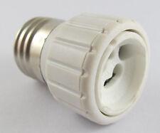 10 x E27 Male to GU10 Female Socket Base LED Halogen CFL Light Bulb Lamp Adapter