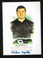 Mike Aponte #249 signed autograph auto 2007 Topps Allen & Ginter's Card