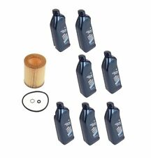 For BMW E60 E80 E90 Genuine 7-Quarts 5w30 Synthetic Motor Oil & 1-Oil Filter