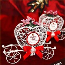 1pc Cinderella Carriage Candy Chocolate Boxes Birthday Party Wedding Romantic Q