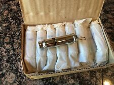 24 (2 doz) Vintage Nickel-Plated British bobby Police Whistles