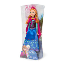 """Mattel Disney Frozen Classic Anna of Arendelle Doll 12"""" New in Box Authentic"""