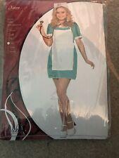Nurse Fancy Dress Outfit | Size L | 18-20