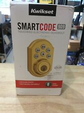 Kwikset Smart Code 909 Touchpad Electronic Deadbolt - Gold 99090-017  NEW