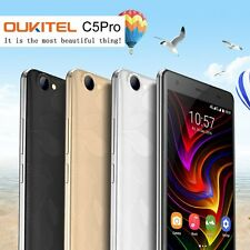 OUKITEL C5 Pro 4G Smartphone 5.0 Zoll Android 6.0 Quad 1.3GHz 2GB RAM 16GB ROM