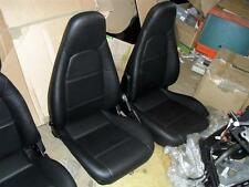 Black Leather Seats, Mazda MX5 mk2, high back type, new, MX-5 NB, 1998-2000