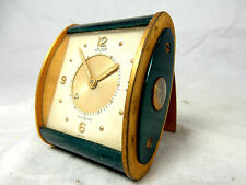 Beautiful Jaeger LeCoultre Art Deco design Memovox alarm clock Reisewecker Uhr