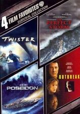 4 Film Favorites Survival Collection R1 DVD Twister Outbreak