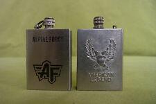 2 cerilla encendedores-American Legend-Alpine Force-nº 120