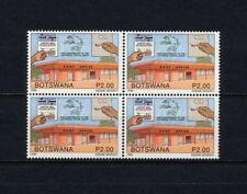 (SBAZ 123)  Botswana 1999 MNH BLOCK OF 4 UPU 125th Anniversary
