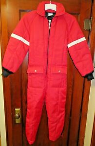 Vintage Walls Blizzard Pruf Insulated Outerwear Snow Suit Youth SZ 12-14 XLarge