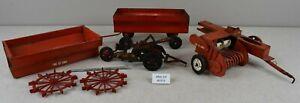 (Lot #1313) Vintage Tru Scale & Other Toys Farm Toy Parts or Restoration Lot