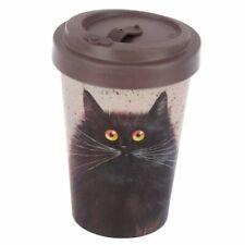Offizielle Kim Haskins Cat Bamboo Composite Bio Degradable Reisebecher NEU in Box