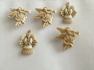 DRESS IT UP GLITTER ANGELS CHRISTMAS PRAYING HEAVEN NATIVITY CAKE TOPPERS CRAFTS