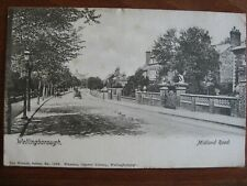 Midland Road , Wellingborough, Northamptonshire. - posted 1909