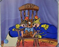 CHUCK JONES BEAR FOR PUNISHMENT ANIMATION CEL SIGNED #183/500 W/COA