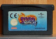 Spyro Season of Ice - Game Boy Advance - Version Spain - Cartridge