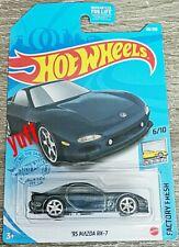 Hot Wheels 2021 US CARD Super Treasure Hunt Mazda RX7 Limited Stock 1