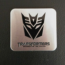 1 X Transformers Decepticon Emblem Logo Sticker Badge Car Body Side Tank Cover