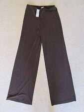 New Women's Cashe Solid Brown Slinky Stretch Dress Pants/Slacks Size XS