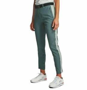 Under Armour Links Golf Pants Green Women's Size 10 1272344-100