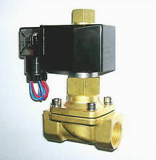 """1/2"""" Electric Solenoid Valve 12-V DC NORMALLY OPEN"""