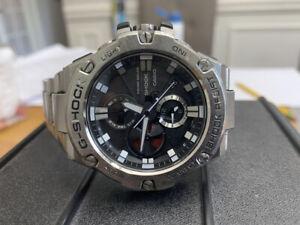 Casio Watch G-shock G-STEEL Smartphone Link GST-B100D-1AJF Men's Pre-Owned