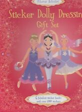 Sticker Dolly Dressing Gift Set by Fiona Watt (Paperback, 2014)