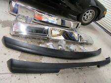 Porsche 914 chrome bumper package fabulous deal to upgrade your car B9145030237A