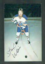 1979-80 Edmonton Oilers Stan Weir Team Issued Postcard