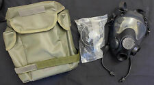 More details for mp5 arf-a nato military respirator with filter and olive green case