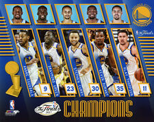 2017 NBA Champions GOLDEN STATE WARRIORS 8x10 Photo Durant, Curry, Green Poster