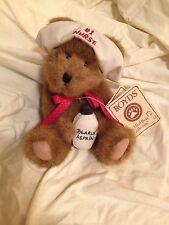 Boyds Bears - Head Bean Collection- Nurse Carin #1 Nurse 2003
