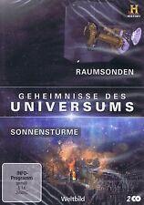 DOPPEL-DVD - Geheimnisse des Universums - Raumsonden / Sonnenstürme