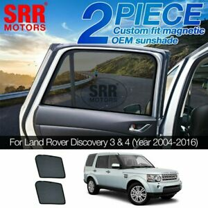 Custom Magnetic Sun Shade Rear Door Car Window Land Rover Discovery 4 2004-2016