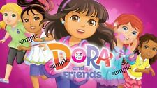 DORA & FRIENDS IRON ON T-SHIRT TRANSFER *NEW*