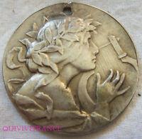 MED7387 - MEDAILLE CONCOURS INTERNATIONAL DE MUSIQUE TURIN 1902 en argent