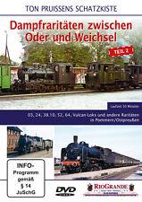 DVD Ton Pruissens Schatzkiste Dampfraritäten zwischen Oder und Weichsel - Teil 2