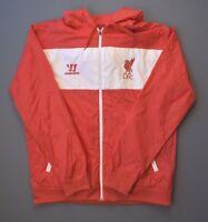 Liverpool Football Jacket Size L Mens Red Long Slevee Soccer Warrior ig93
