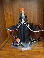 Anime BLEACH Kurosaki ichigo PVC Figure Toy 28cm New