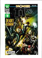 Titans DC Comics #28 NM- 9.2 Drowned Earth Prelude,Aquaman 2018
