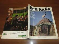 BELL'ITALIA N°25 MAGGIO 1988 RESIDENZE SABAUDE ISOLA DI BUDELLI VAL FIORENTINA