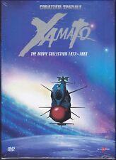 5 Dvd Box Cofanetto CORAZZATA SPAZIALE YAMATO • THE MOVIE COLLECTION 1977~1983
