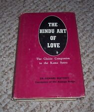 POET Hindu Art of Love Companion to Kama Sutra Sir Richard Burton Kalyana Malla