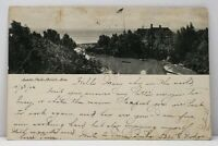 1906 Duluth Minnesota Lester-Park to St Paul Postcard H9