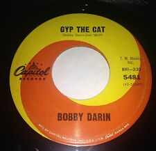 Bobby Darin: Gyp The Cat / That Funny Feeling 45